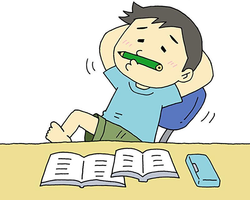 在宅 勉強 子供