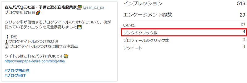 Twitterエンゲージメントの実データ5