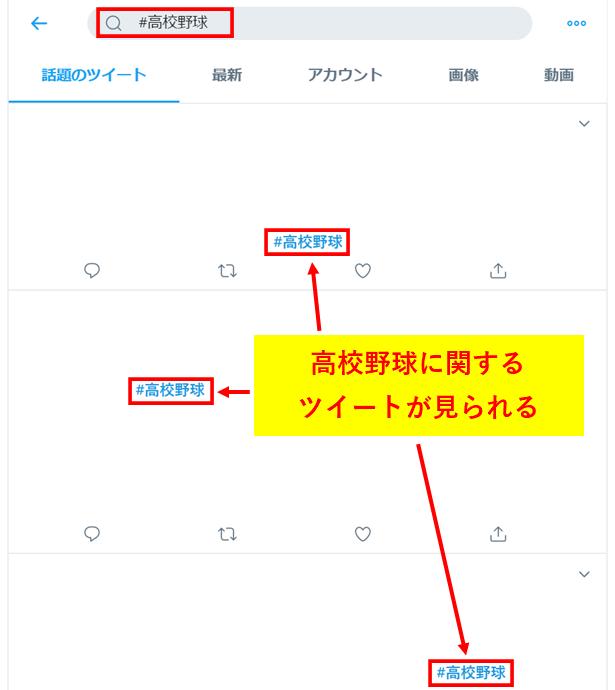 Twitterハッシュタグの解説1