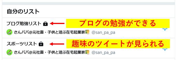 Twitterリストの活用事例3