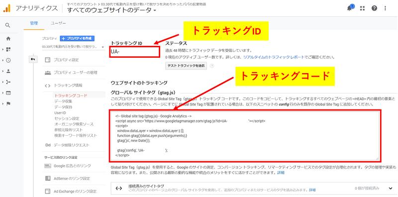 Googleアナリティクスの導入方法5