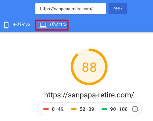 ブログの表示速度を改善した結果2